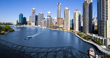Brisbane River & Skyline