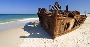 S.S. Maheno Wreck, Fraser Island