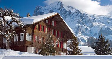 Ski Resort Near Grindelwald