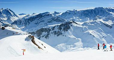 Ski the French Alps