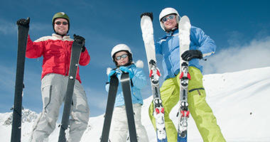 Enjoy a Family Ski Trip