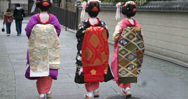 Traditional Kimonos