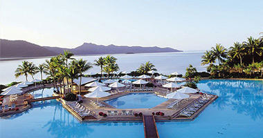 Hayman Island's Hexagon Pool