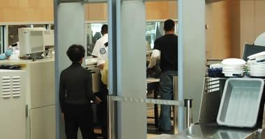 Follow airport security guidelines