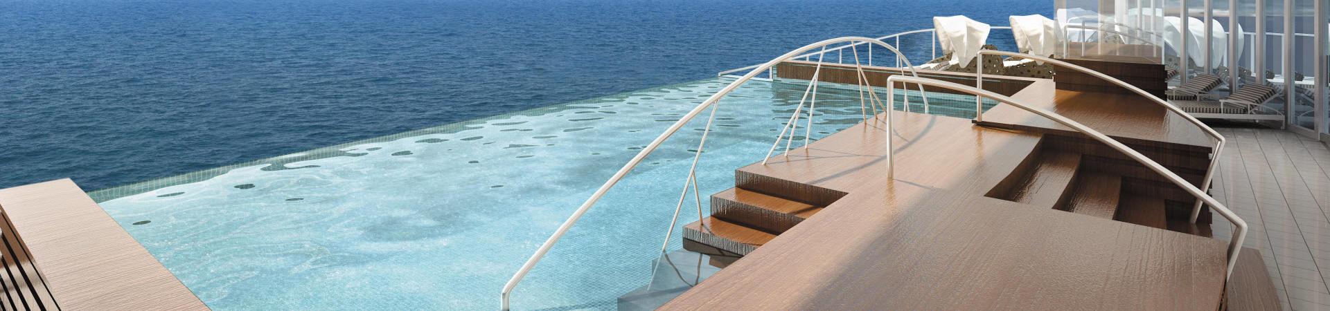 Regent Seven Seas Pools