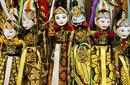 Traditional Balinese Wooden Puppets