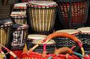 Djembe Drums and Sisal Handbags