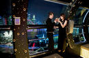 Cocktails on the Singapore Flyer