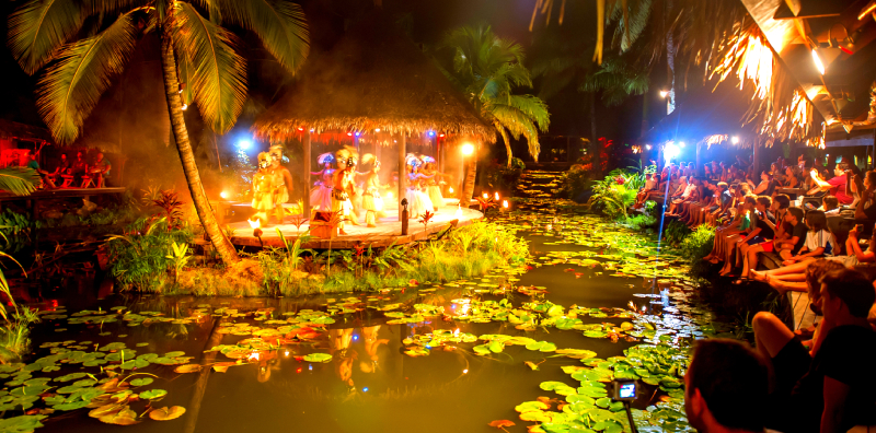 Te Vara Nui Village dinner & show
