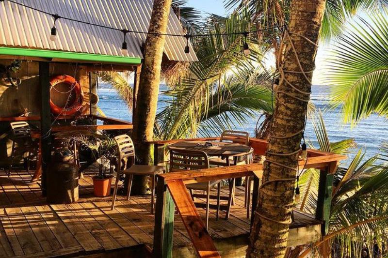 The Waterline restaurant Rarotonga, Cook Islands