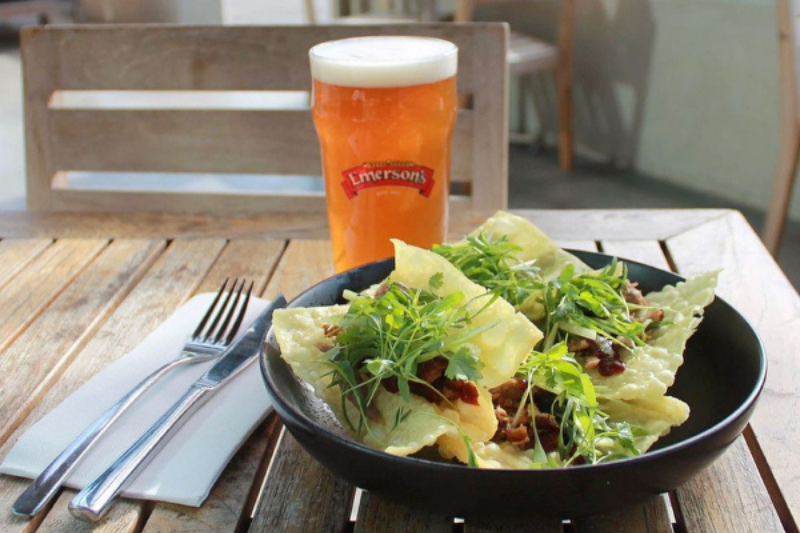 Head to Emerson's Brewery for the best pint in Dunedin